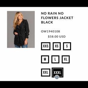 No Rain No Flowers Jacket